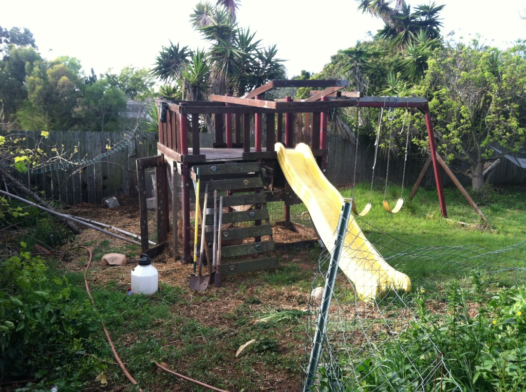 play structure chicken coop